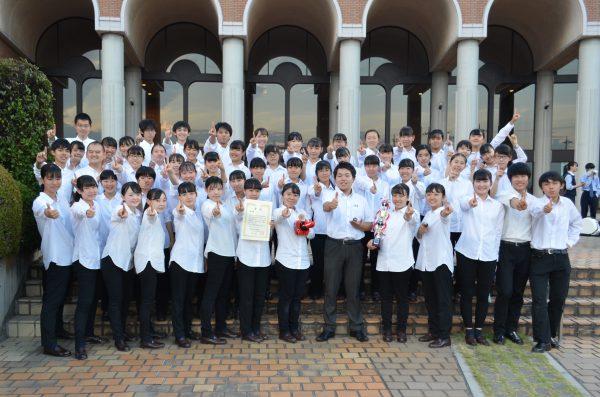 吹奏楽部 管楽合奏コンテスト全国大会へ