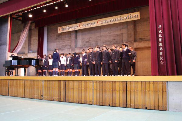 1学年 校歌コンテスト・合唱コンクール