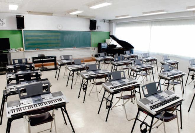 音楽室の画像