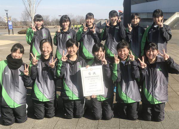 陸上部 第86回埼玉県競走大会 4位!