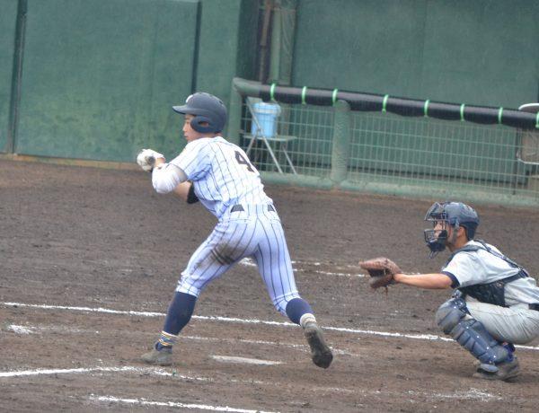 野球部 初戦突破