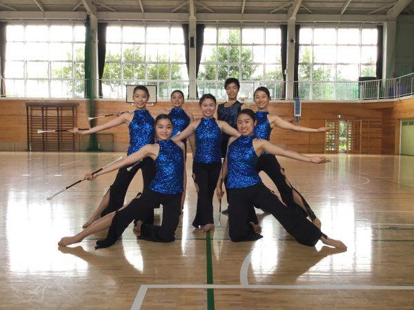 バトントワーリング部 鳩山町民体育祭 出演