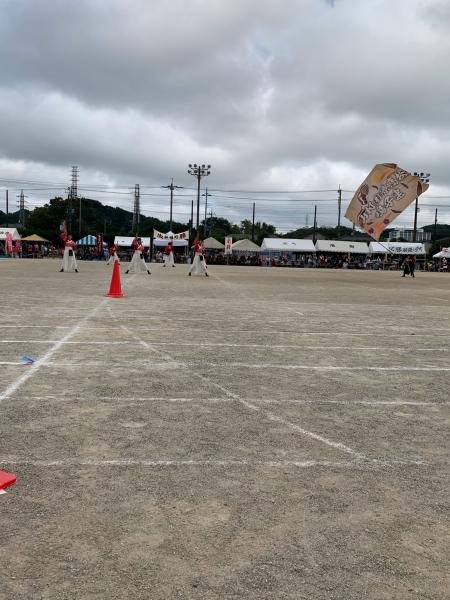 よさこい部 「小川町民体育祭 演舞披露」