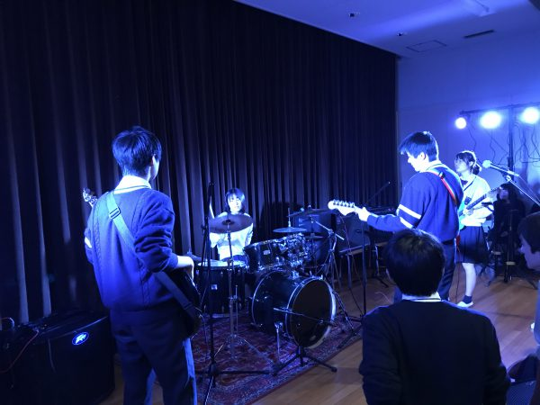 軽音楽部・県立川口高校主催合同ライブ参加