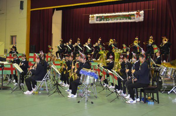 嵐山郷様でクリスマスコンサート